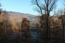 Fall view from the cabin deck