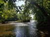 The South Fork of the Shenandoah River outside the cabin